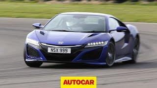 Honda NSX - Britain's Best Driver's Car   Part 2   Autocar