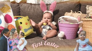 FIRST EASTER AS A FAMILY OF THREE!!!!! | FAMILY FUN