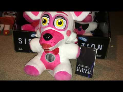 FNAF Sister Location Plush review