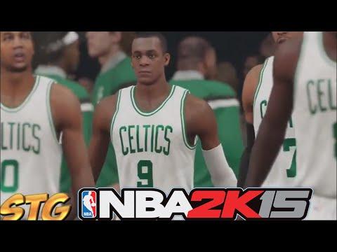 NBA 2k15 PS4 HD Gameplay - Boston Celtics vs Sacramento Kings Ft. Rajon Rondo!
