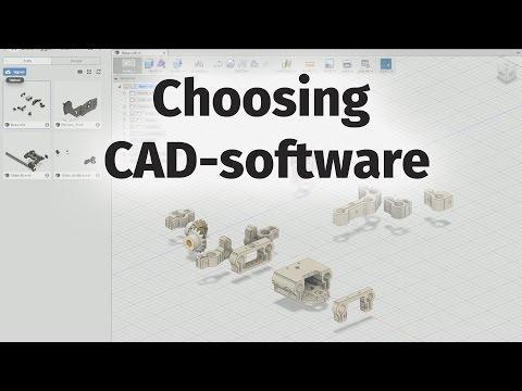 Choosing 3d Printing CAD Software (free Options)