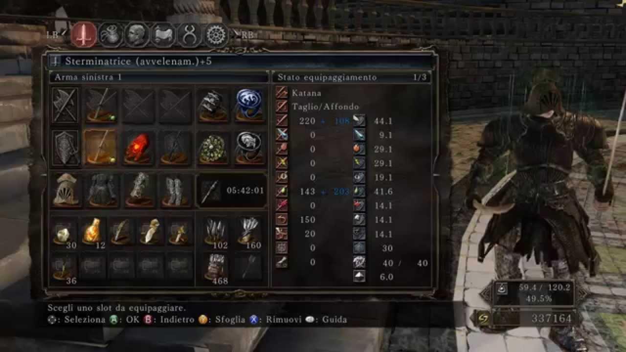 Dark Souls  Manslayer Build