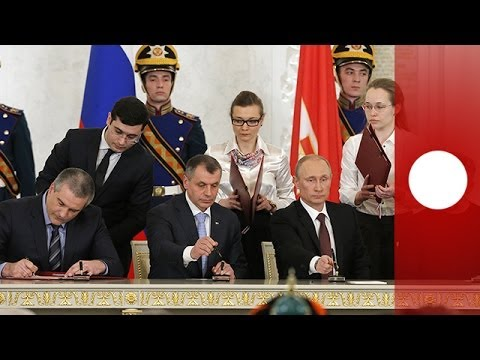 Putin signs treaty to incorporate Crimea into Russian federation