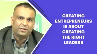 Creating Entrepreneurs is about creating