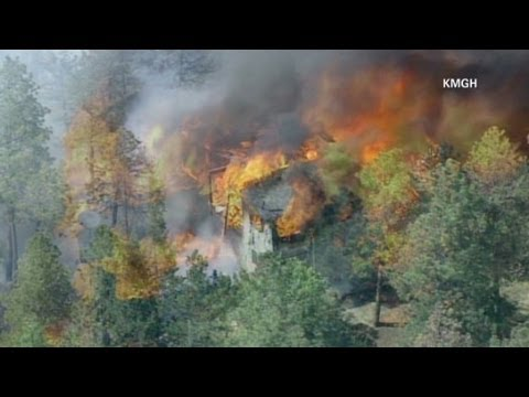 Progress made in Colorado wildfires