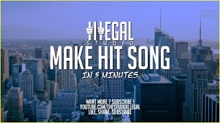 How to MAKE HIT RAP SONG IN 5 MINUTES - Fl Studio 12 Tutorial