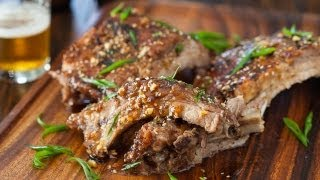 Korean Kalbi Baby Back Ribs Recipe