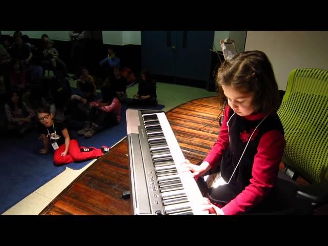 Amalia - Winter Piano Recital 2013