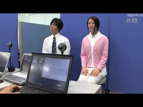 A very human-like robot invented by Japanese engineers