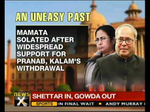 Pranab to campaign in Kolkata today, likely to meet Mamata - NewsX