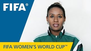 Referees at the FIFA Women's World Cup Canada 2015™: LEDYA TAFESSE