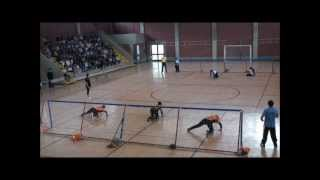 Greece vs Netherlands / goalball ec2012B