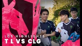 Team Liquid LoL W5 Day 1 - TL vs CLG Highlights