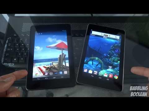 Hisense Sero 7 Pro vs Nexus 7 (Budget 7 inch quad-core tablet comparison)