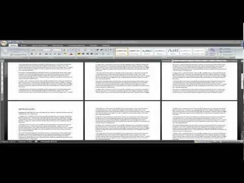 Como Inserir numero de pagina a partir da pagina que desejar