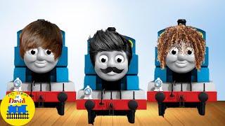 THOMAS CRAZY HAIR DAY! Thomas and Friends Funny Cartoon Video BABY SHARK Nursery Rhymes Song