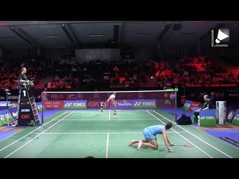 Carolina Marin vs P.V. Sindhu - WS SF [Denmark Open 2015]