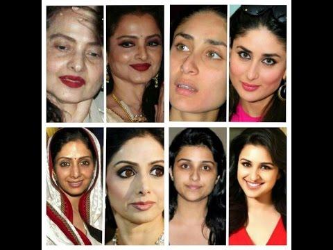 Bolywood Actress Without Makeup