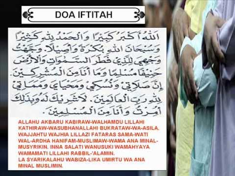 Harga doa iftitah