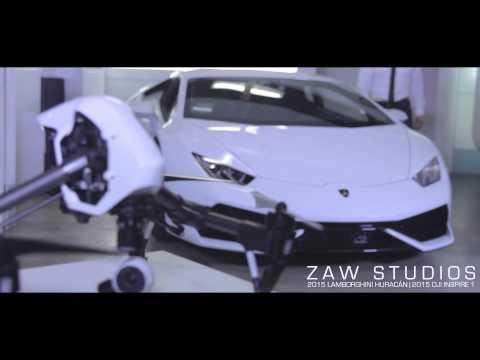 2015 Lamborghini Huracán LP 610 4 & 2015 DJI Inspire 1 Drone