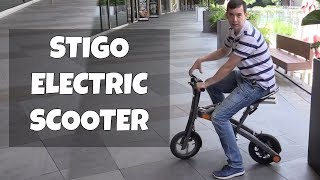 Stigo - The Fastest-Folding Electric Scooter
