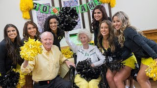 Oregon's Oldest Living Former Cheerleader