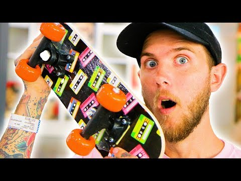 DON'T BREAK THE 5 DOLLAR DISCOUNT STORE SKATEBOARD!