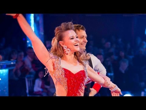 Kimberley Walsh Cha Chas and Tangos to 'It's Raining Men' - Strictly Come Dancing 2012 - BBC One
