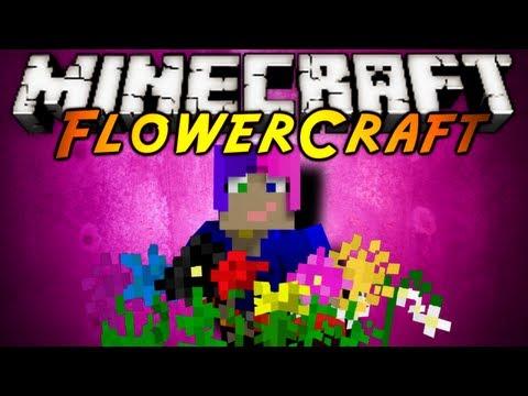 Minecraft Mod Showcase : FLOWERCRAFT