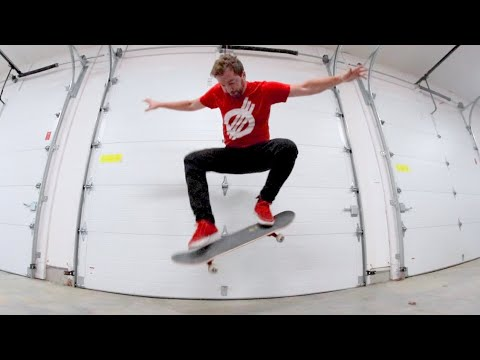 Garage Skateboarding 101 (To Survive Quarantine)