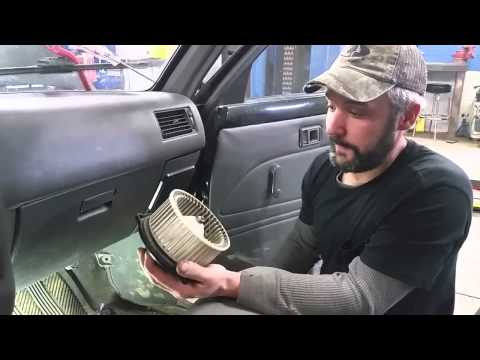 Blower Motor & Resistor - Toyota Pick Up