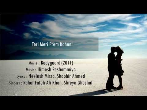Teri Meri Prem Kahani - Bodyguard hindi lyrics - english translation...