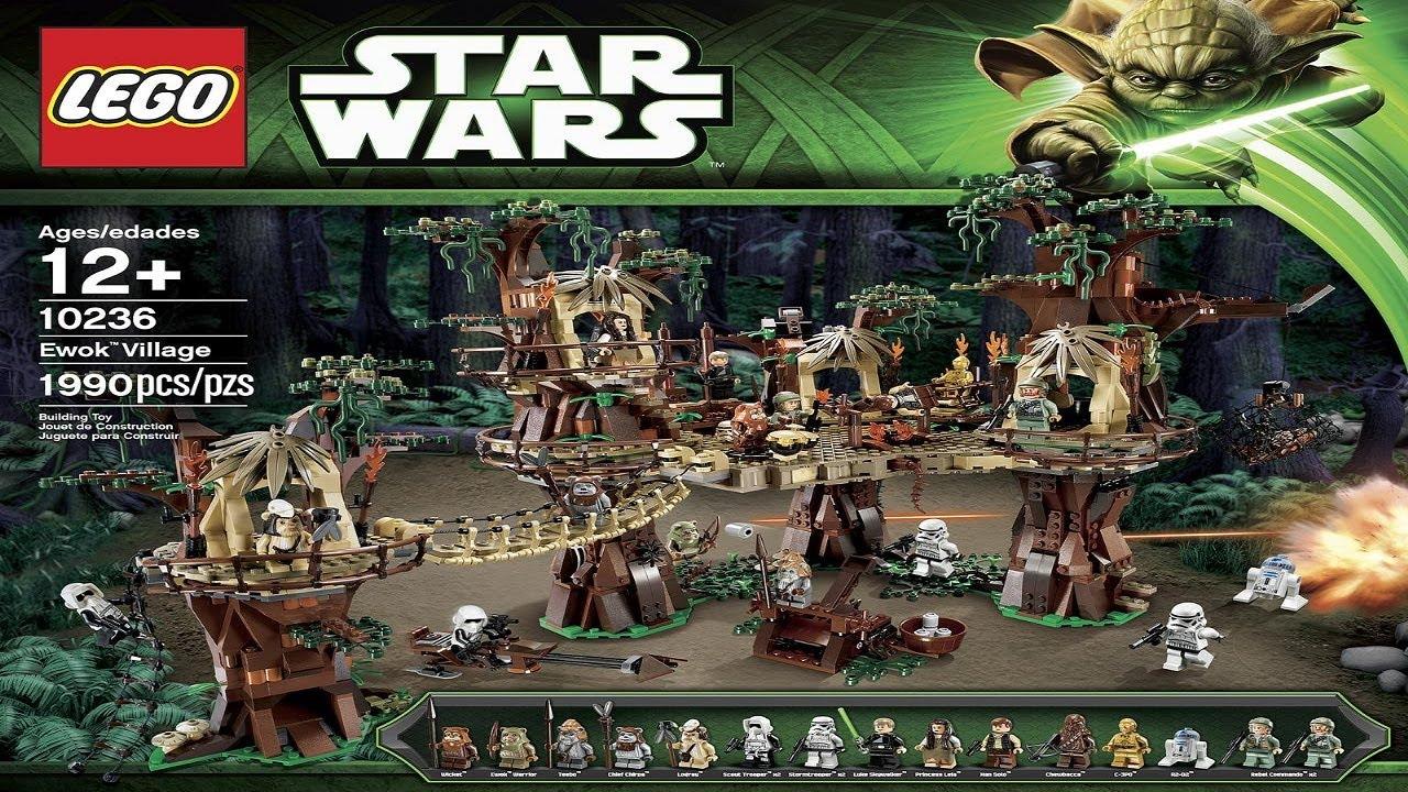 Lego ewok village 2013 set 10236 hd youtube - Star wars couchtisch ...