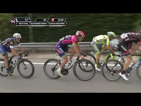 Matteo Trentin wins a thrilling stage at the Giro d'Italia