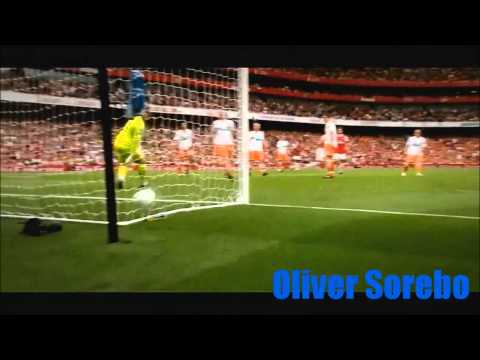 Theo Walcott Skills and Goals
