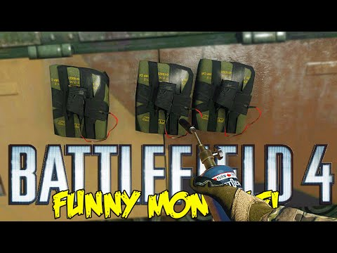 Battlefield 4 Funny Montage!  Hand Flare Kill , Repair tool c4 troll & More (BF4 Funny Moments)
