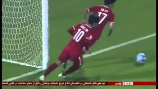 Iran 3 - 2 China report on BBC Persian