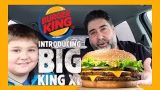 Burger King Big King XL - Burger King - Burger King New XL King Review