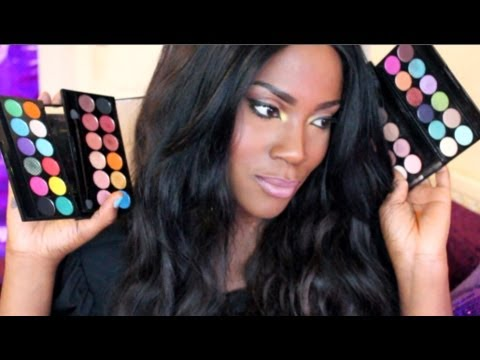�Sleek Mineral Eyeshadow Palette review: Bad Girl, Storm, Oh So Special, Caribbean, Monaco...