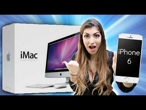 1 MILLION SUBSCRIBER GIVEAWAY! [iMac + iPhone 6!]