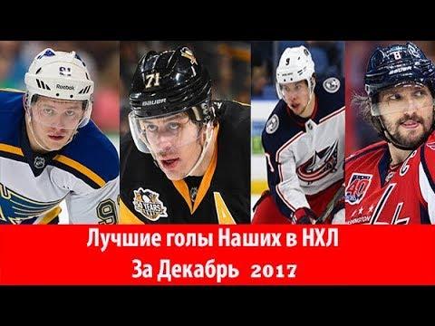 Лучшие голы Российских хоккеистов в НХЛ : Декабрь 2017