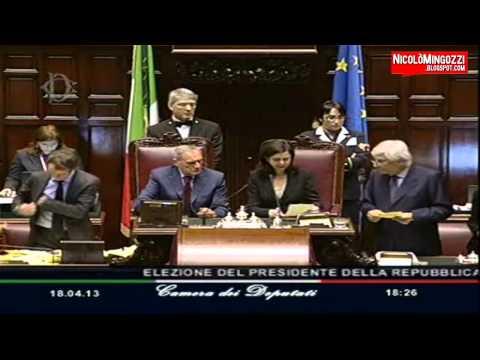 Quirinale, i voti per Mascetti, Siffredi, V. Marini, V. Lario, Cucuzza, Trapattoni (18-19/04/2013)
