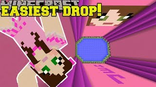 Minecraft: WORLD'S EASIEST DROPPER!!! - PAT & JEN DROPPER - Custom Map