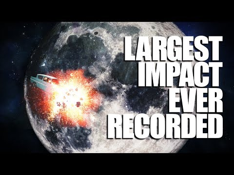Meteorite Smashes Into Moon!