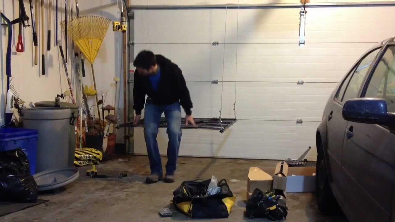 Electric Garage Storage Lift Youtube