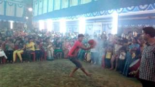 Awesome....durga puja aarti dance...Dunuchi..bY prosanjit nandi