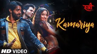 Kamariya Audio Song Stree Nora Fatehi Rajkummar Rao Aastha Gill Divya Kumar Sachin Jigar