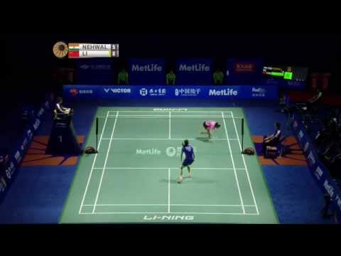 Thaihot China Open 2015 | Badminton F M3-WS | Saina Nehwal vs Li Xuerui