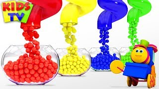 Learn Colors for Kids | Bob Fun Series | Preschool Learning videos - Kids TV