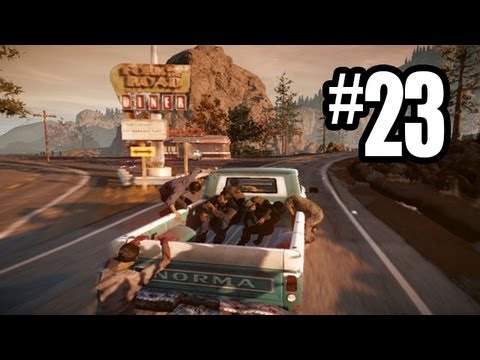State of Decay Gameplay Walkthrough - Part 23 - ASHLEY ON POINT!! (Xbox 360 Gameplay HD)